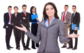 bigstock-business-woman-leader-welcomin-38732257