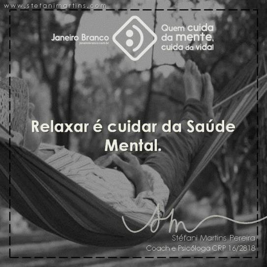 Stress ansiedade relaxar saúde mental